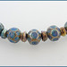 Romany - Lampwork Glass Bead Set by Clare Scott