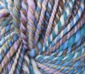"7.4 oz 2 ply Hand Spun Aran Yarn Merino Wool Bloom ""Mist of Avalon"" & ""Handsome"""