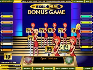 free Reel Deal slot bonus game