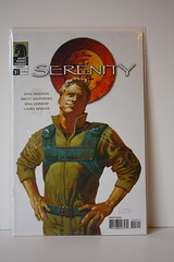 "Serenity: Those Left Behind #3 - Sean Phillips ""Wash"" Cover"
