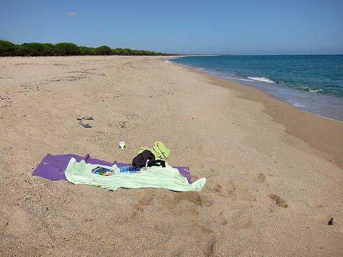 beach, Orosei, Sardegna