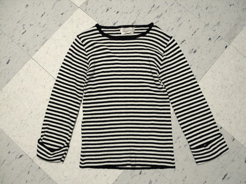 Vintage Long Sleeved Striped Shirt