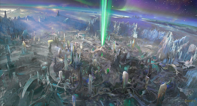 Green Lantern Concept Art sightseeing 1
