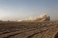 IED strike OMID4-1347 (jeromestarkey) Tags: afghanistan army war explosion afghan taliban bomb convoy nato ied herrick tfh helmand improvisedexplosivedevice isaf insurgency hilmand taleban gereshk girishk taskforcehelmand