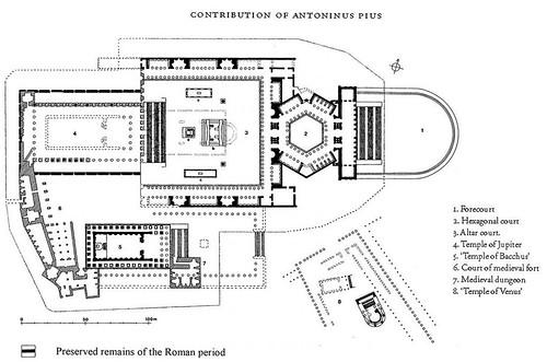 Храмовый ансамбль Гелиополя (Гелиополиса, города солнца), Баальбек, Ливан