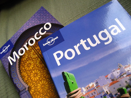 Lonely Planet for Morocco & Portugal