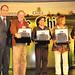 Carlos Imbert, Ramón Achurra, Cristián Ortiz, Patricia Highet y Ricardo Mejías