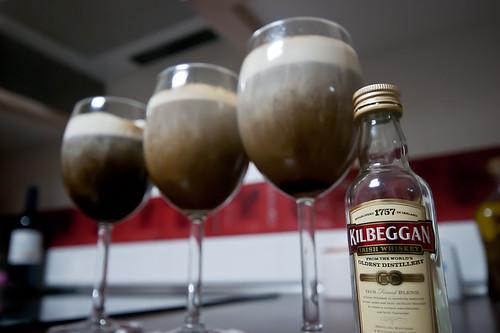 55/365 Café Irlandes con whiskey de Killbeggan