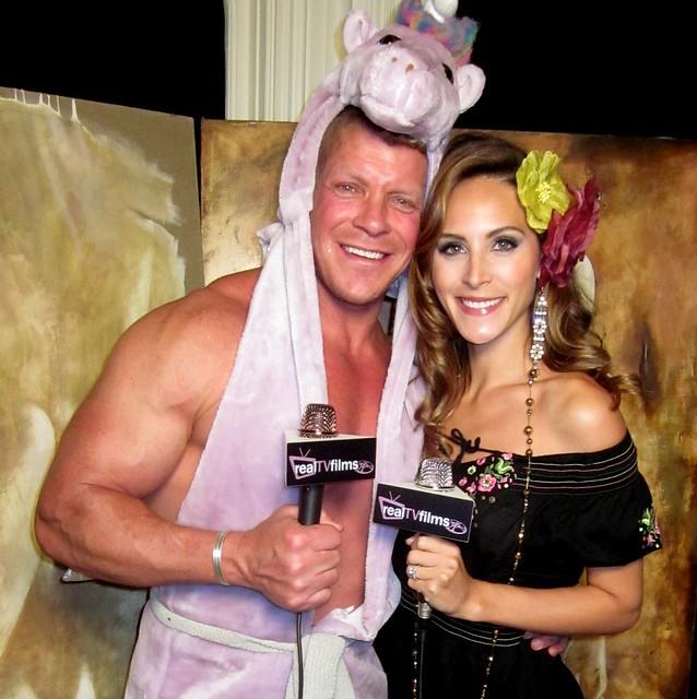 Lee Reherman, Cristina Nardozzi, Bel Air Magazine Halloween Ball