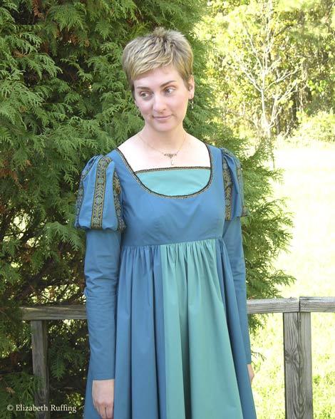 Renaissance gown, McCall's pattern M6141