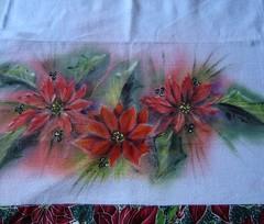 -.- (E l i a n a R e i n a l d o) Tags: flor bolsa macrame pintura croche grampada crochedegrampo