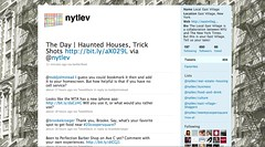NYTLEV Twitter Page