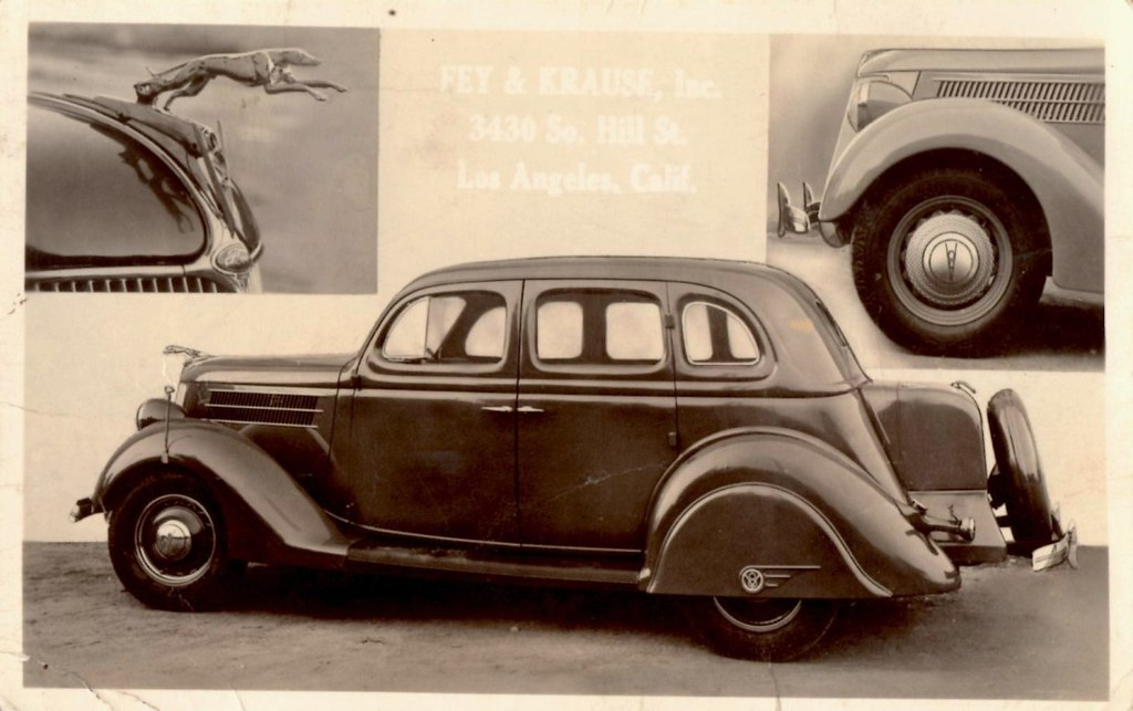 1936 Ford V-8 Fordor, As Accessorized by Fey & Krause