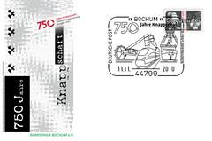 750_Jahre_Knappschaft_Beleg_Bochum