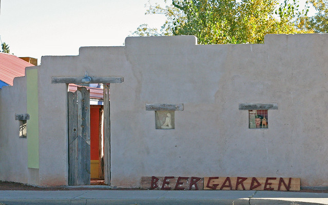 Planet Marfa Beer Garden