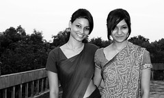 Everything Looks Better in Black and White 4 (Meera Navare) Tags: portrait people smile face person auroville meeranavare