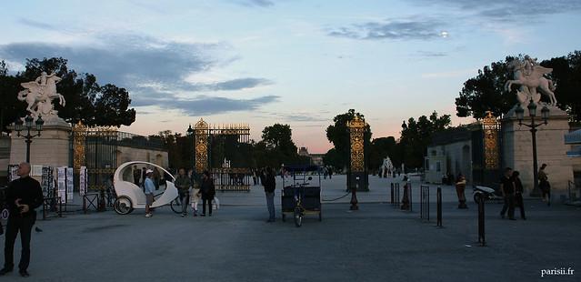 Entrée du Jardin des Tuileries