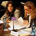 Soraya Rodríguez y Rebeca Grynspan