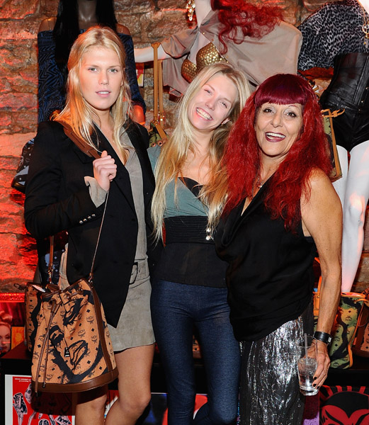 Alexandra Richards,Theodora Richards and Patricia Field attend the celebration of MCM and Patricia Field Limited Edition Collaboration Launch on November 4, 2010 in New York, United States.