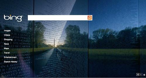 Bing Veteran's Day 2010