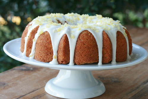 Buttermilk Butternut Squash Bundt with Spiced Vanilla Icing - I Like Big Bundts