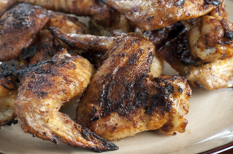 Beer Brined Chicken Wings
