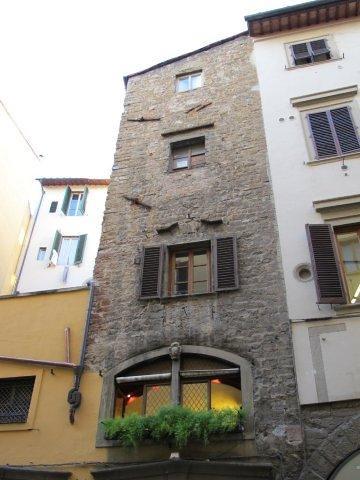 Detalle de una casa florentina