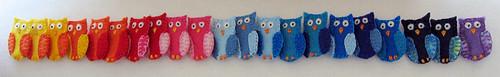 Line o' Owls!