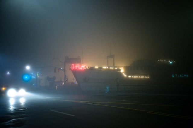 Some photos from Toronto's foggiest night of the year. #fogTO