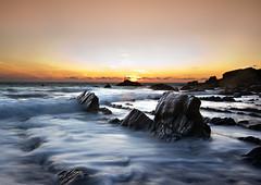 WELCOMBE MOUTH SUNSET (Dinky Do's) Tags: sunset sea canon landscape rocks devon dapa 550d dapagroup welcombemouth dapagroupmeritaward dapagroupmeritaward3 dapagroupmeritaward4 dapagroupmeritaward2 dapagroupmeritaward1