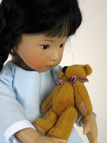 Mei Ling Effner with Bear