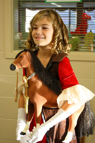 Laura as Sybil Ludington