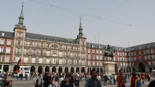 Plaza Mayor - Madri, Espanha