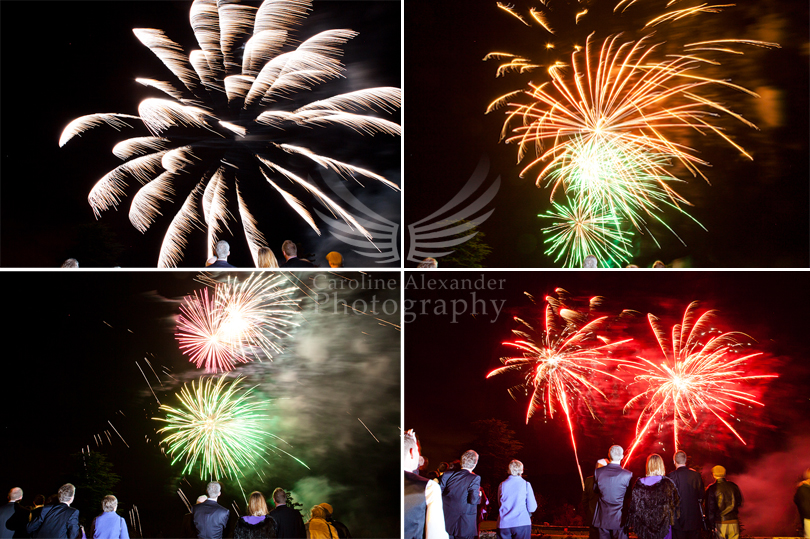 Cirencester Wedding Photographer  fireworks 36