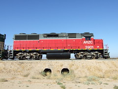 ARZC 3901 Parker AZ (AA654) Tags: arizona loco az locomotive parker emd 3901 gp392 arizonacalifornia arzc