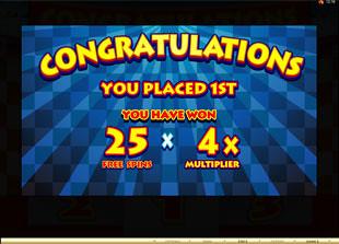 free Mad Dash slot bonus prize