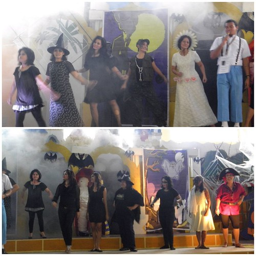 teachers halloween presentation, halloween party