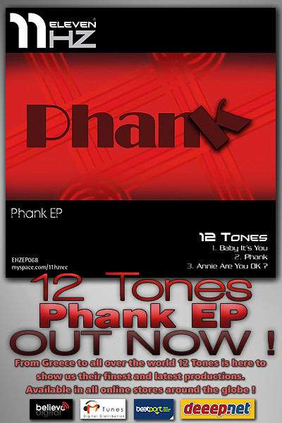 EHZEP068 - 12 Tones - Phank EP - 11Hz Recordings