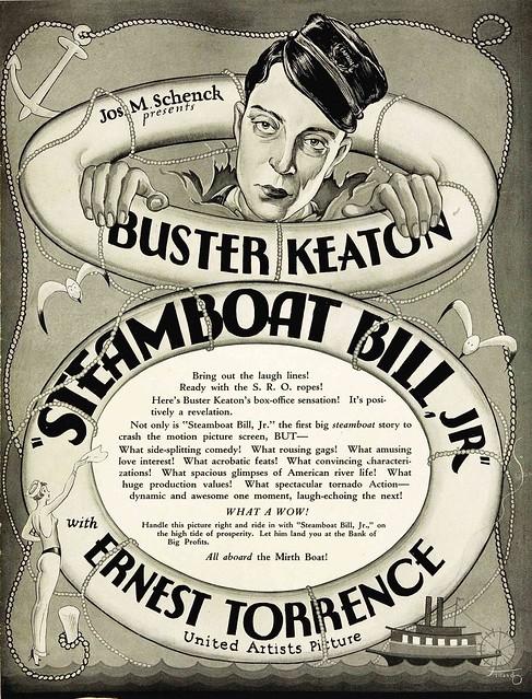 SteamboatBillJr1928_pressbook
