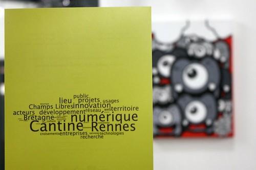 Exposition à la Cantine Numérique Rennaise