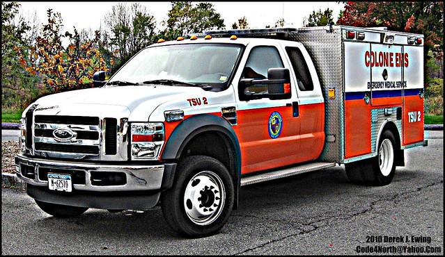 paramedics 2009 colonie f450 cems builtfordtough townofcolonie colonieems code4north derekjewing