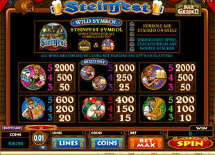 free Steinfest slot mini symbol