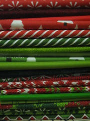 connecting Threads christmas fabric
