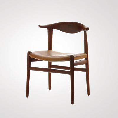Hans Wegner Cow Horn Chair