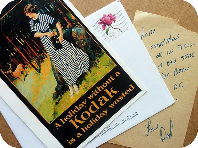 letterbox: kodak