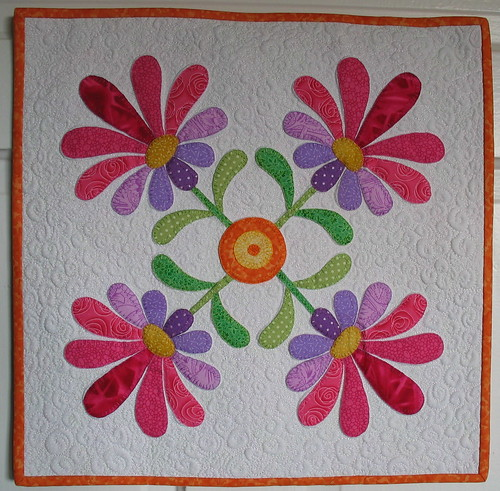 swap quilt by Helen