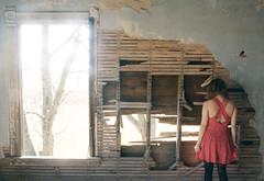 (yyellowbird) Tags: house abandoned window girl wa