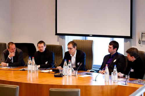 Ministers debatteren over Twitter