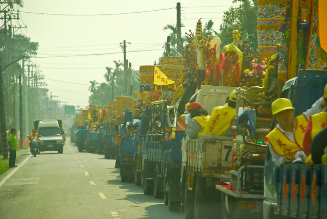 Temple festival parade - 3 miles long