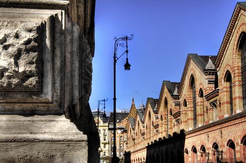 Central market. Budapest. Mercado central